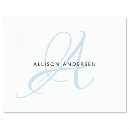 Initial Personalized Note Cards