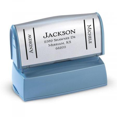 Side Show Pre-Inking Address Stamper