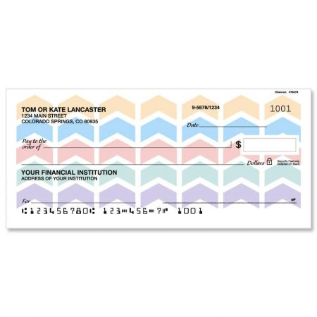 Chevron Single Checks