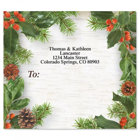 Woodland Whimsy Mailing Package Label