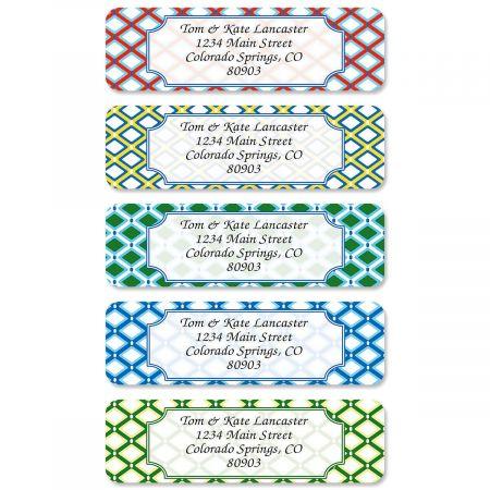 Classy Prep Rolled Address Labels  (5 Designs)