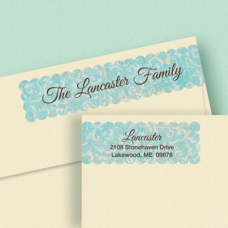 Simple Elegance Wrap Around Address Labels