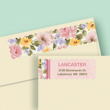 Garden Flair Wrap Around Address Labels