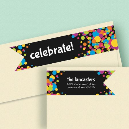 Jubilee Connect Wrap Around Diecut Address Labels