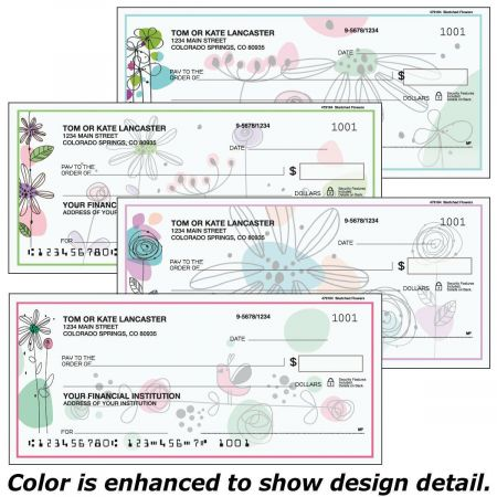 Sketched Flowers Duplicate Checks