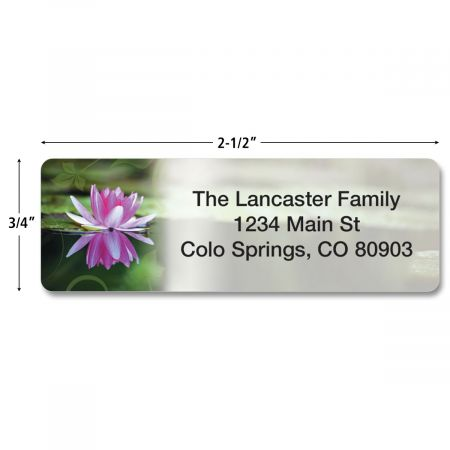Zen Rolled Address Labels  (5 Designs)