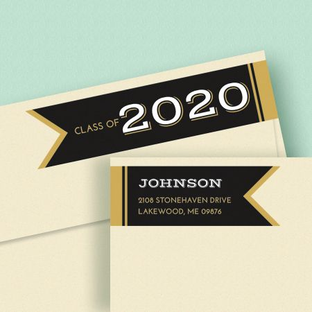 Graduation Day Wrap Around Address Labels