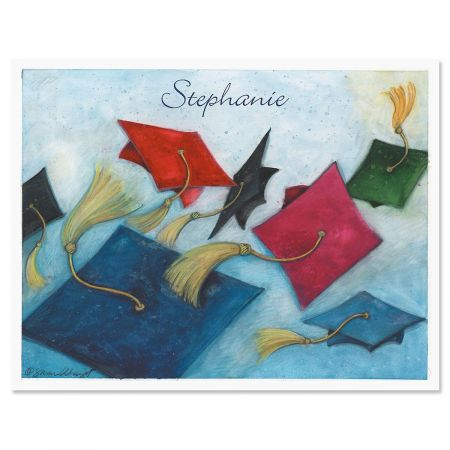 Graduation Day Personalized thank You Note Cards
