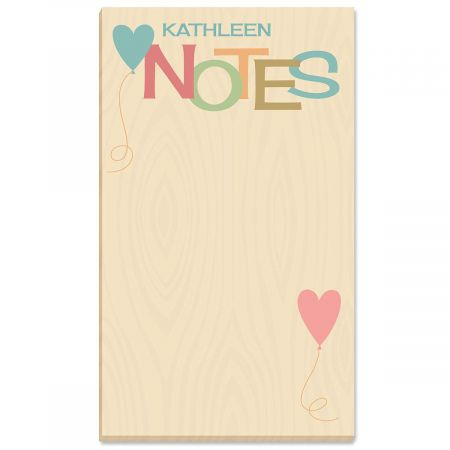 Natural Personalized Notepads