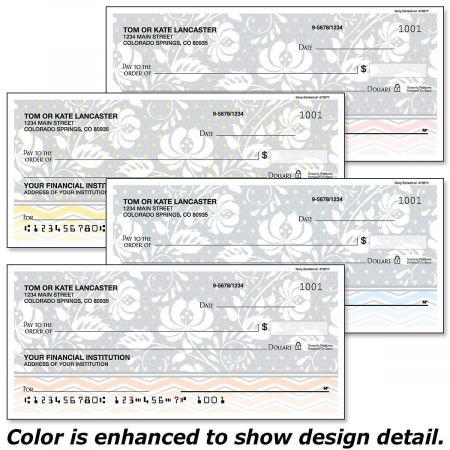 Gray Botanical Checks