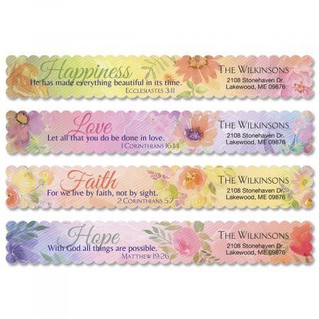 Devotion Wrap Around Address Labels  (4 Designs)