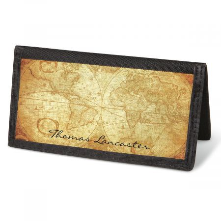 Old World  Checkbook Cover - Personalized