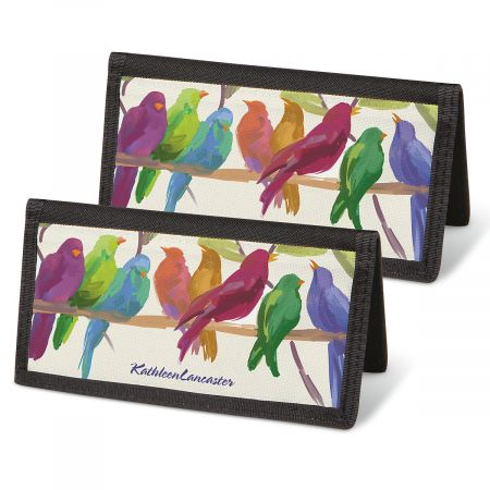 Flocked Together Checkbook Covers