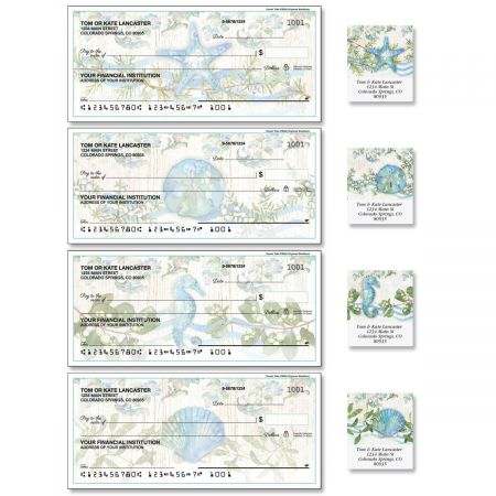Ocean Tide Single Checks with Matching Labels