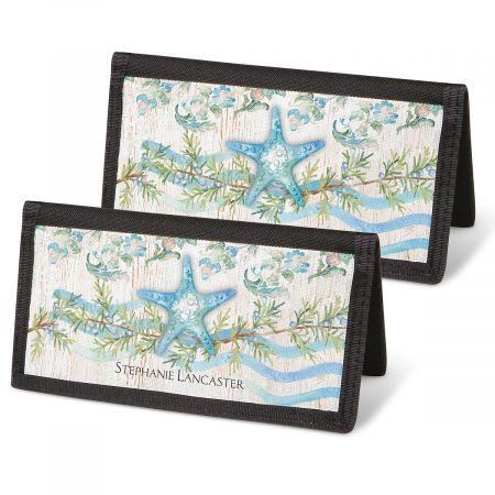 Ocean Tide Checkbook Covers