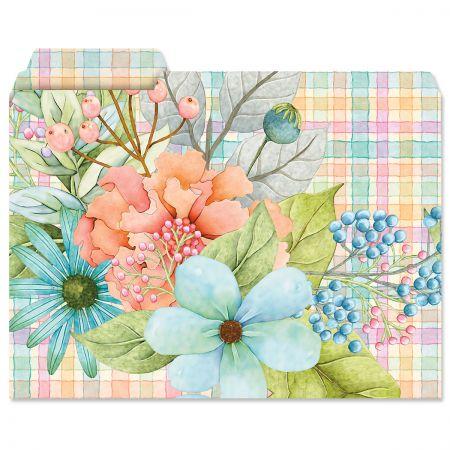 Sentiment Garden File Folders