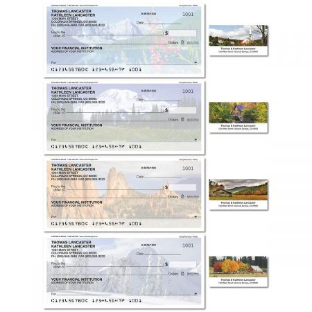 Rocky Landscapes Single Checks with Matching Labels