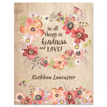 Kindness Personalized Note Cards