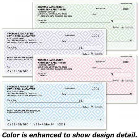 Diamond Pattern Checks