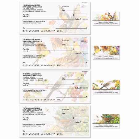 Songbirds Duplicate Checks with Matching Address Labels