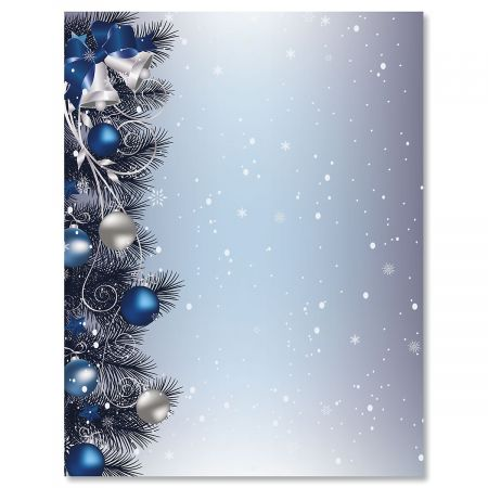 Silver Bells Christmas Decorations Awesome Silver Bells Christmas Letter Papers  Current Catalog Design Ideas
