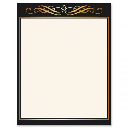 Calligraphy Frame Celebration Letter Papers