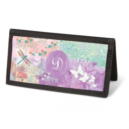 Vibrant Dragonflies Checkbook Covers