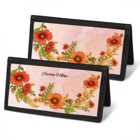 Wreaths Checkbook Covers