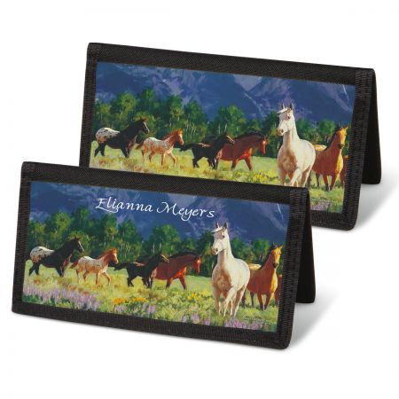Beauty in the Wild Checkbook Covers
