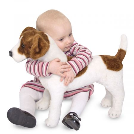Plush Jack Russel Terrier by Melissa & Doug®