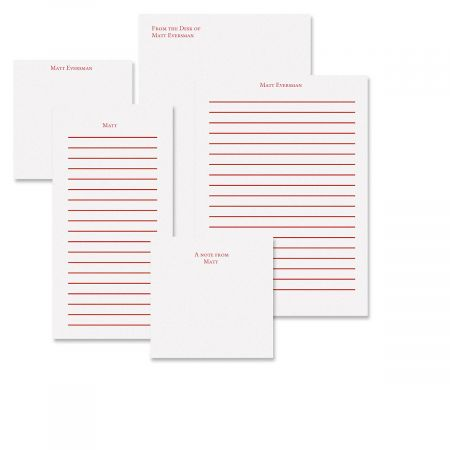 Primary Personalized Notepad Set