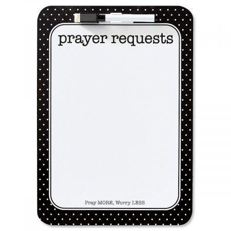 Prayer Requests Inspirational Dry Erase Board