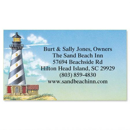 Lighthouse Calling Card
