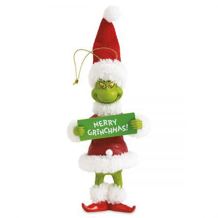 Merry Grinchmas Christmas Ornament