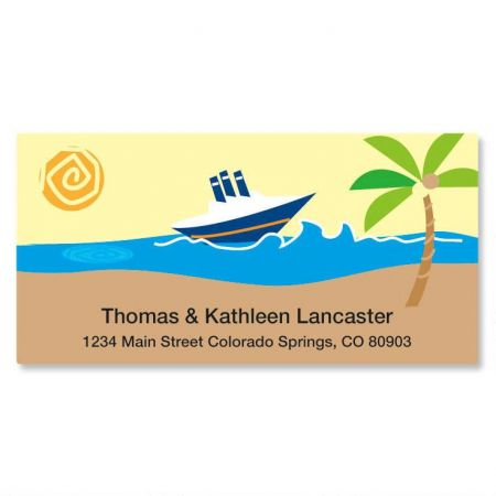 Travel Agent Deluxe Address Labels