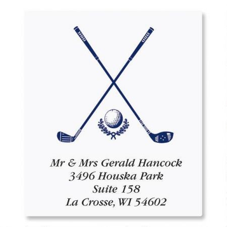 Golf Select Address Labels