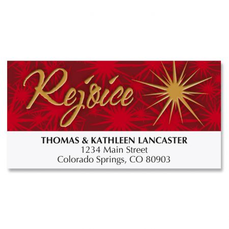 Tree of Faith Deluxe Address Labels
