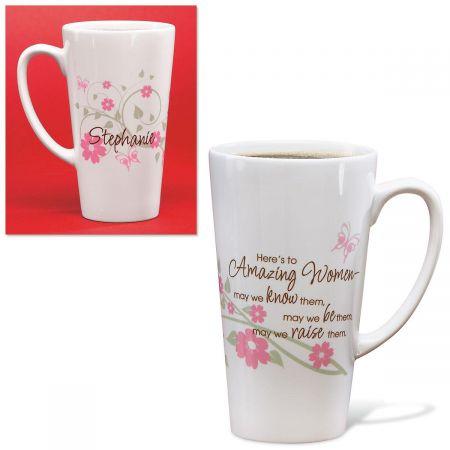 Amazing Women Latte Mug