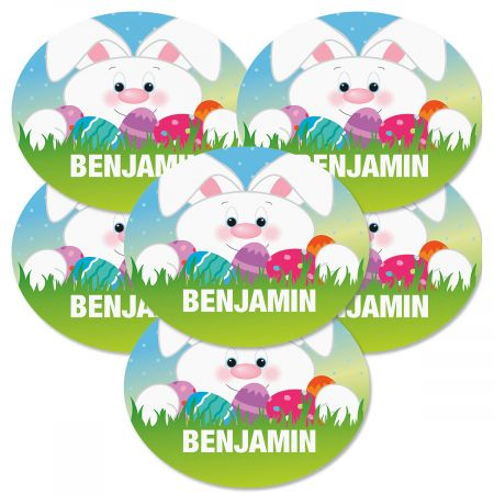 Personalized Easter Stickers