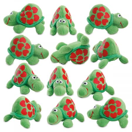 Plush Valentine Turtles