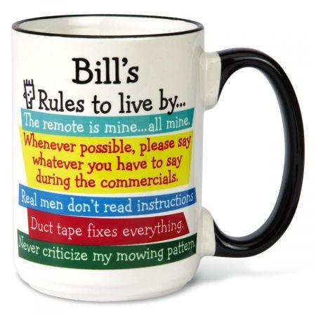 Man Rules Mug