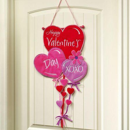 Valentine's Day Door Banner
