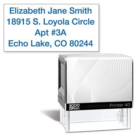 Standard Self-Inking Address Stamp