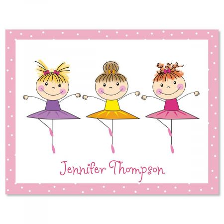 Tiny Dancer Note Cards