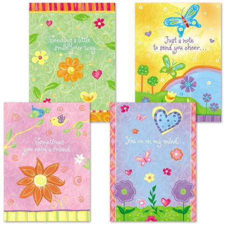 Thinking of You Faith Cards
