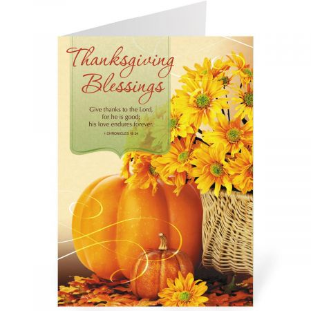 Expressions of Faith  Thanksgiving Cards