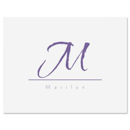 Inspirational Personalized Note Cards