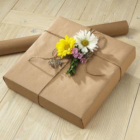Plain Kraft Jumbo Roll Gift Wrap