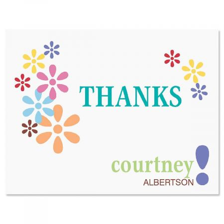 Hopscotch Thank You Cards