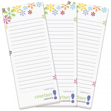 Hopscotch Lined Shopping List Pads